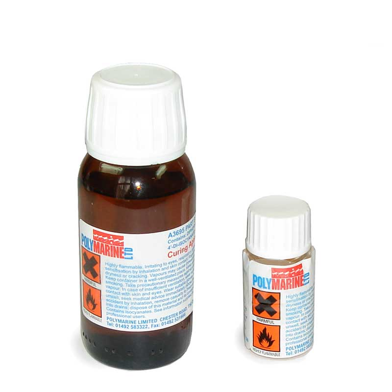 A3695B Curative for Hypalon & PVC Fabric Adhesive - 40ml